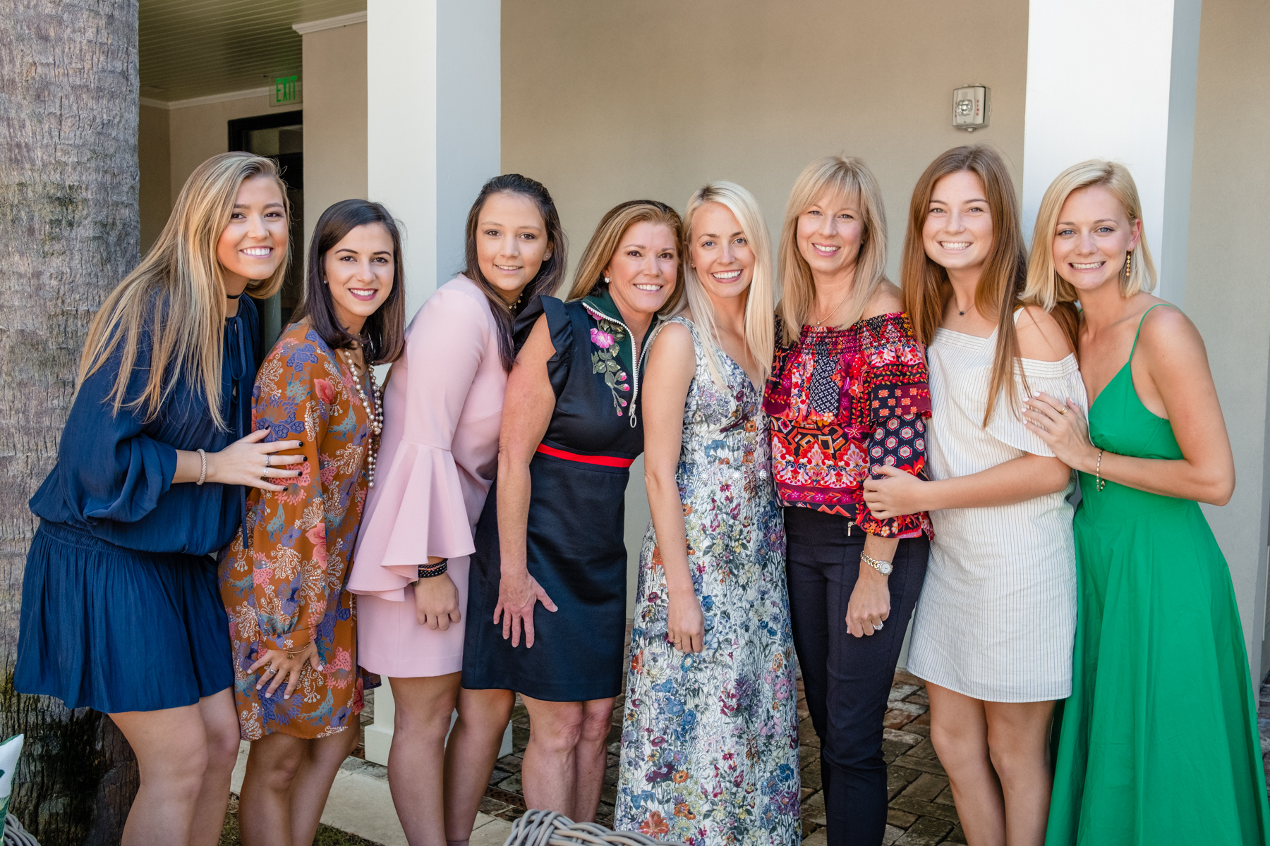 Jillian Attaway's family celebrating at her bridal shower // Rhyme & Reason