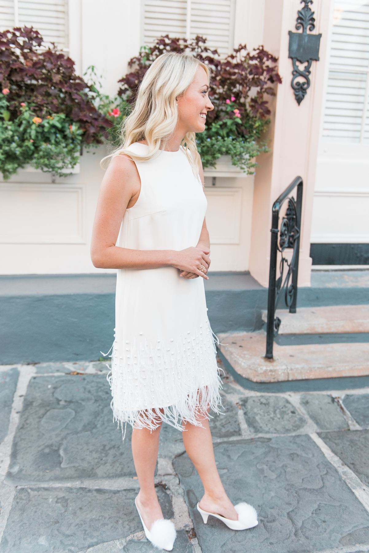 The best little white dresses to wear to your rehearsal dinner // Rhyme & Reason