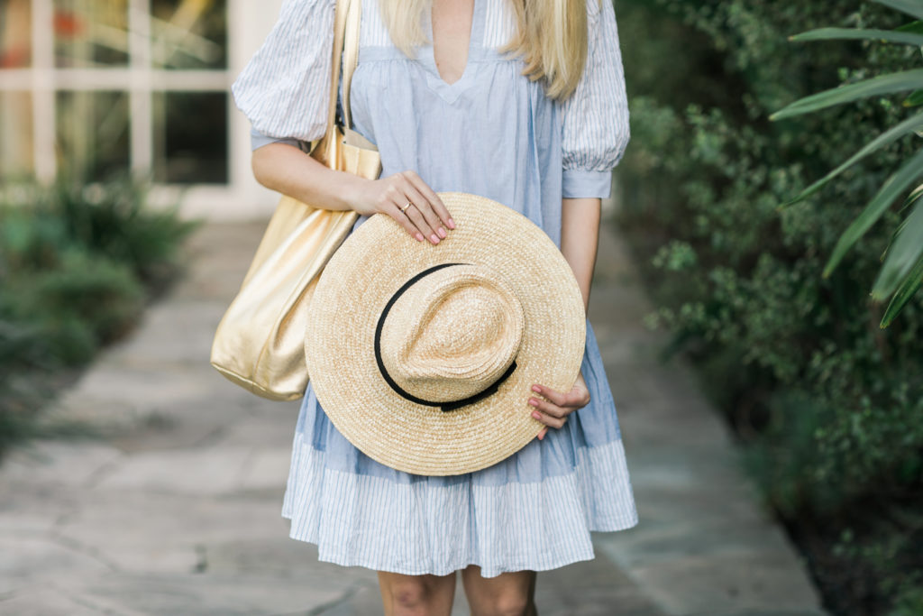 The best straw summer hats to wear this season + where to shop summer hats // Rhyme & Reason