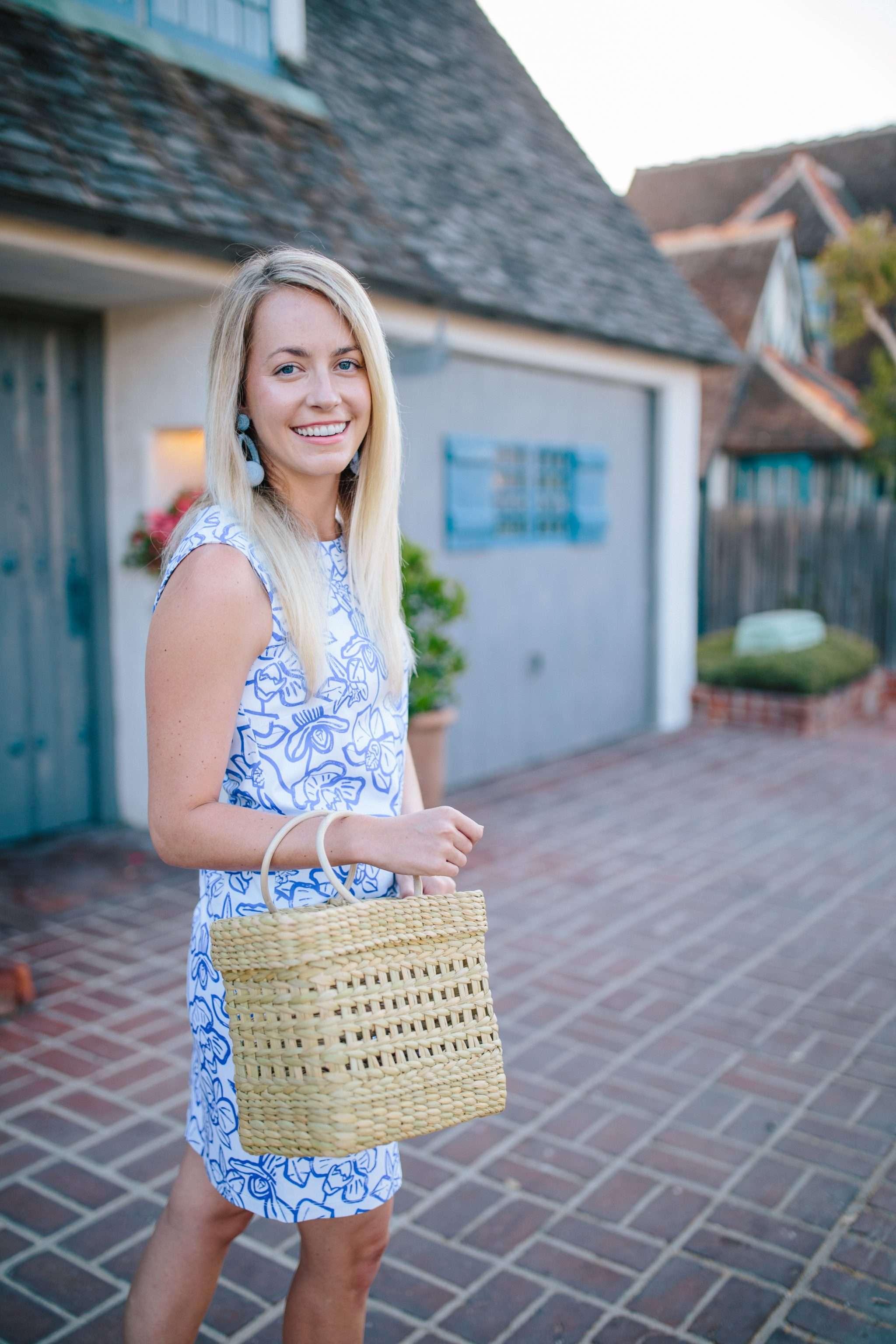 Persifor Summer Dress in San Diego, California // Rhyme & Reason