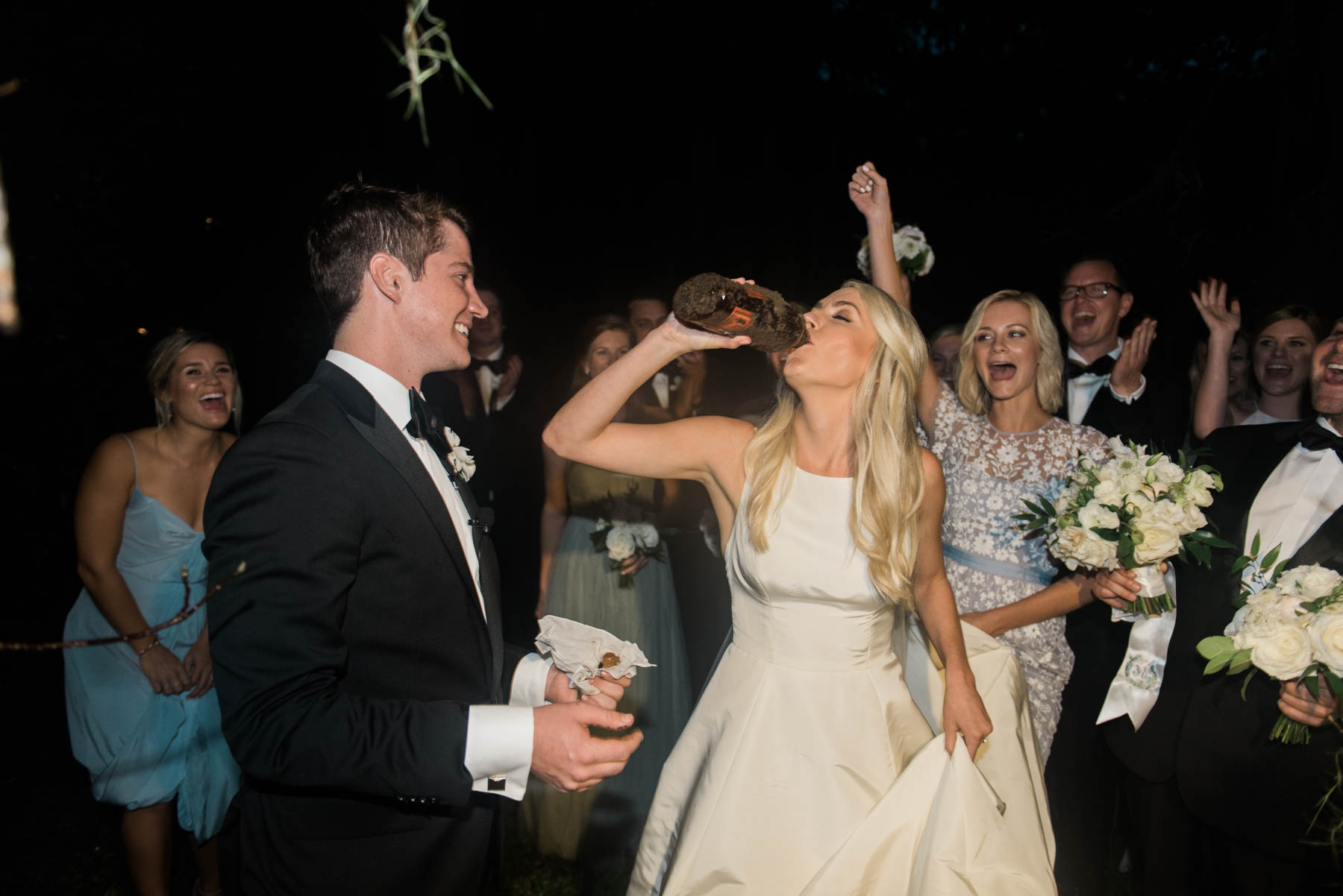 Why Southern Brides Bury Bourbon Before Their Wedding // Rhyme & Reason