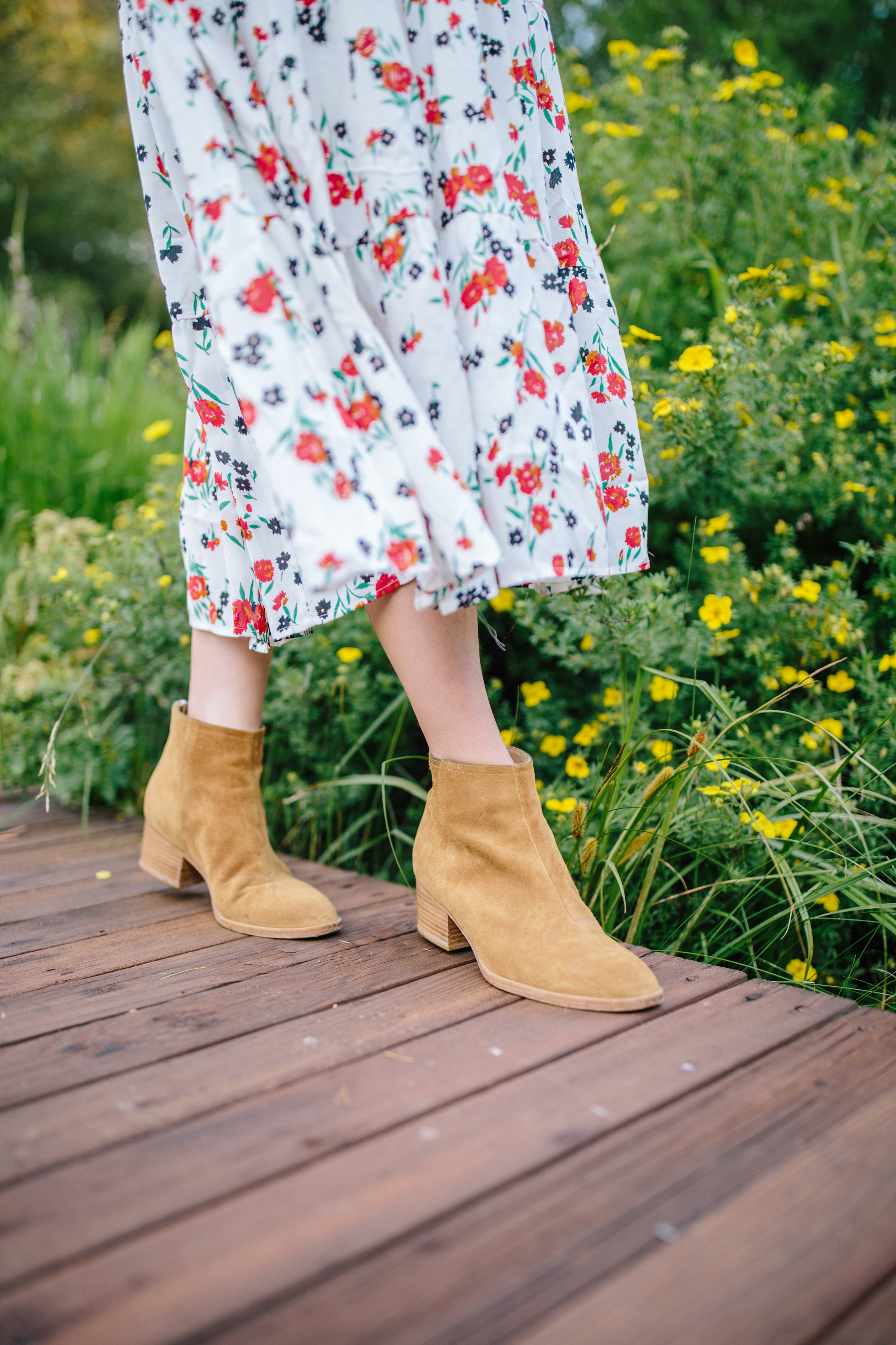 A guide to the best booties to buy for fall + the suede booties every girl needs in her closet this autumn // Rhyme & Reason