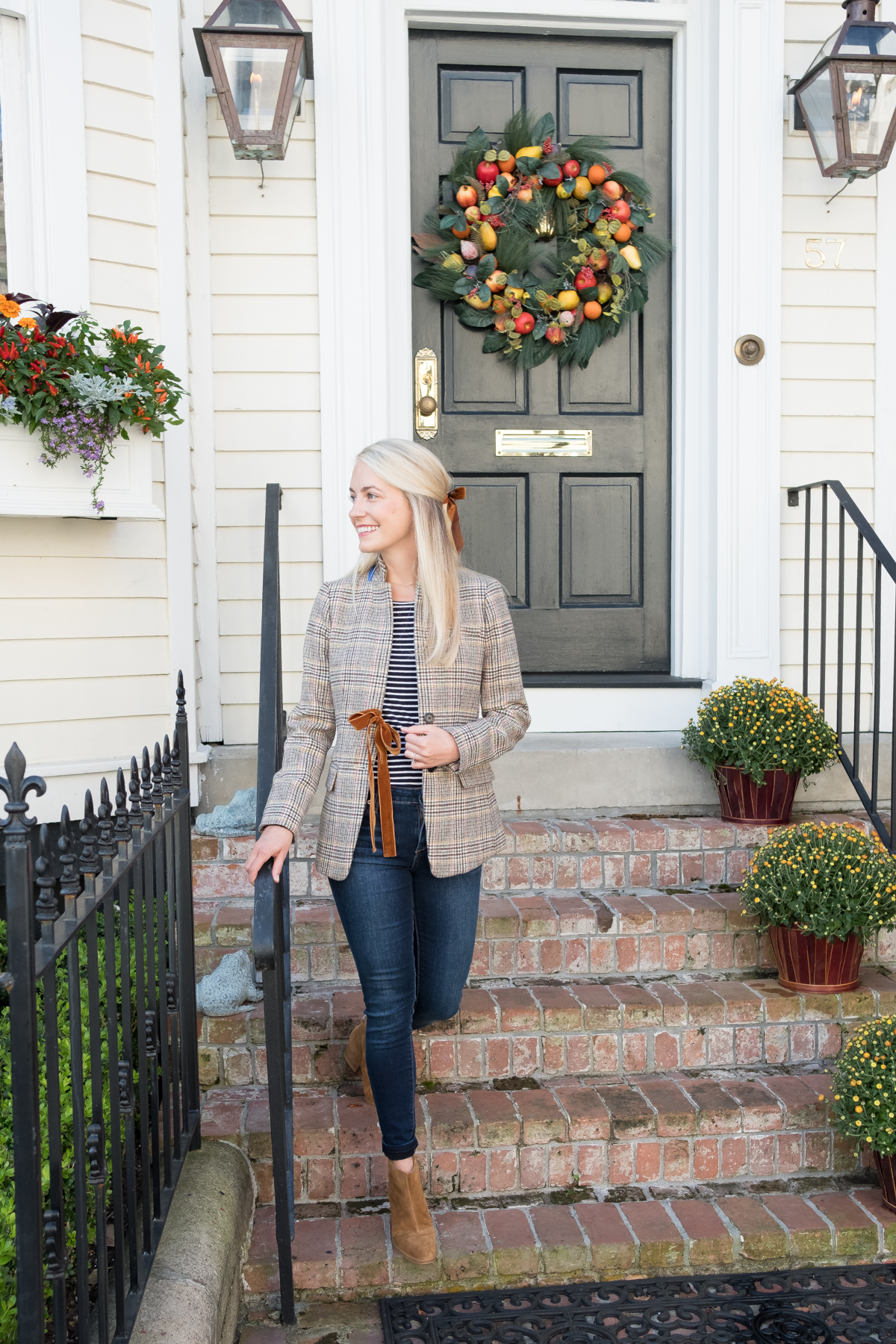 How to add plaid to any fall outfit with style // Rhyme & Reason