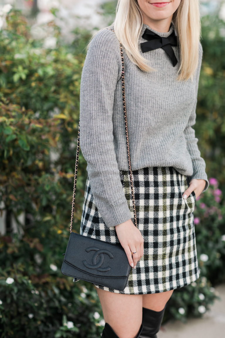 Plaid skirts that every girl should have for fall // Rhyme & Reason