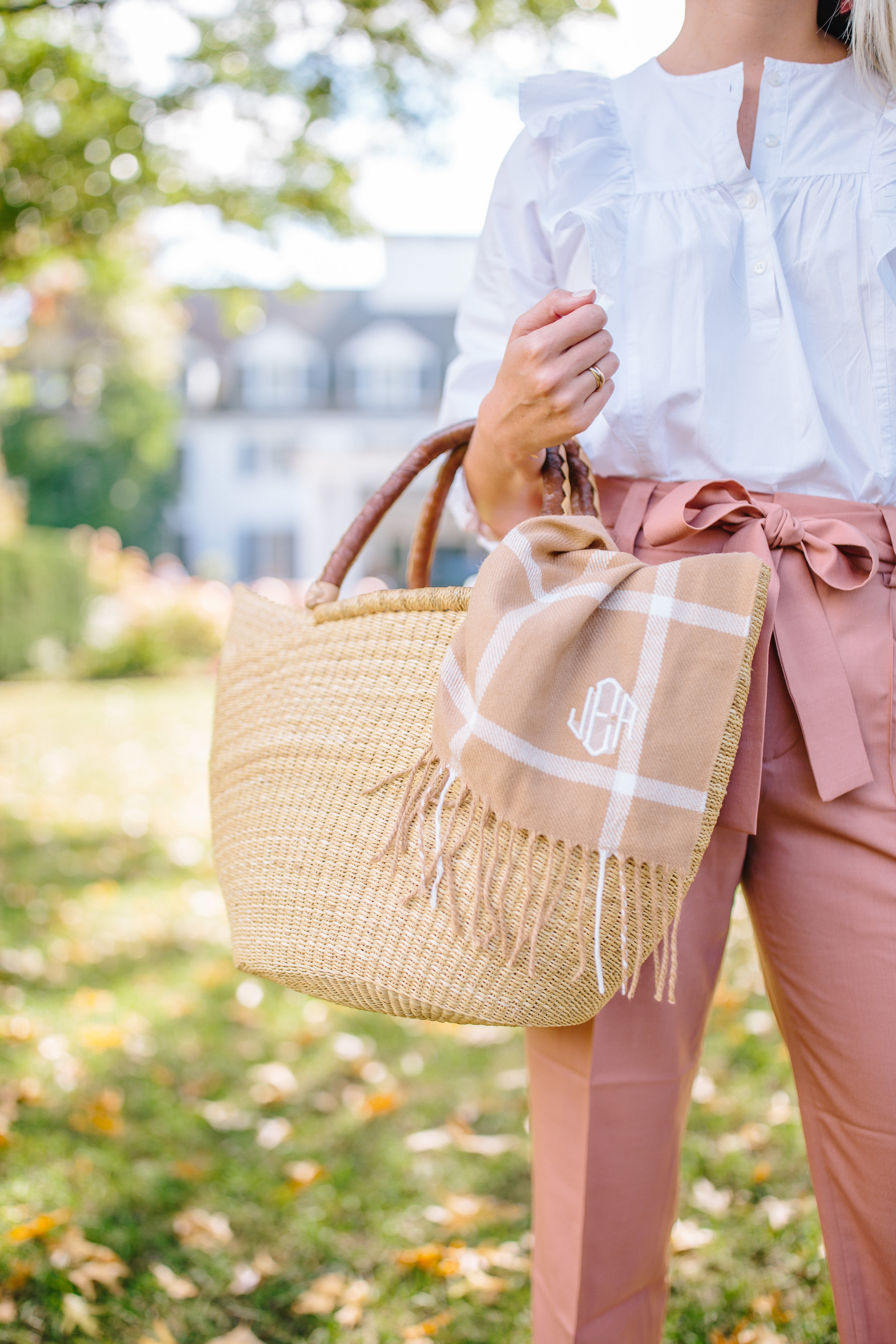 Basket bags you can year after summer and throughout the year // Rhyme & Reason