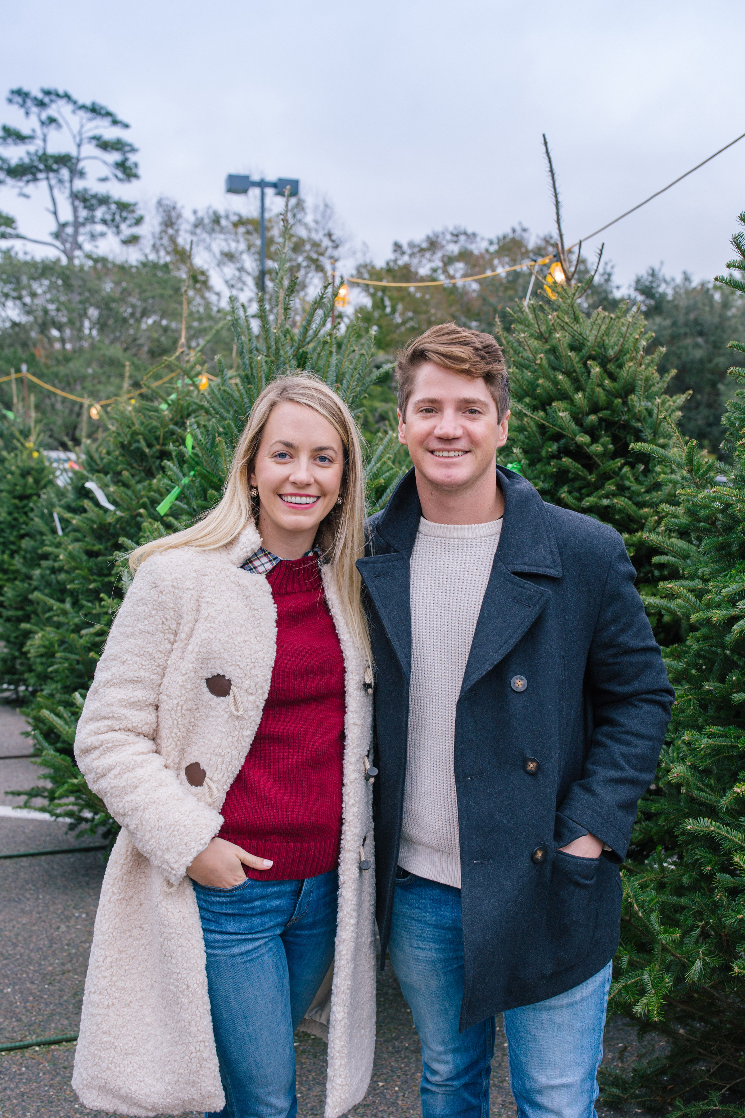 Picking out our Christmas tree in Charleston | Rhyme & Reason