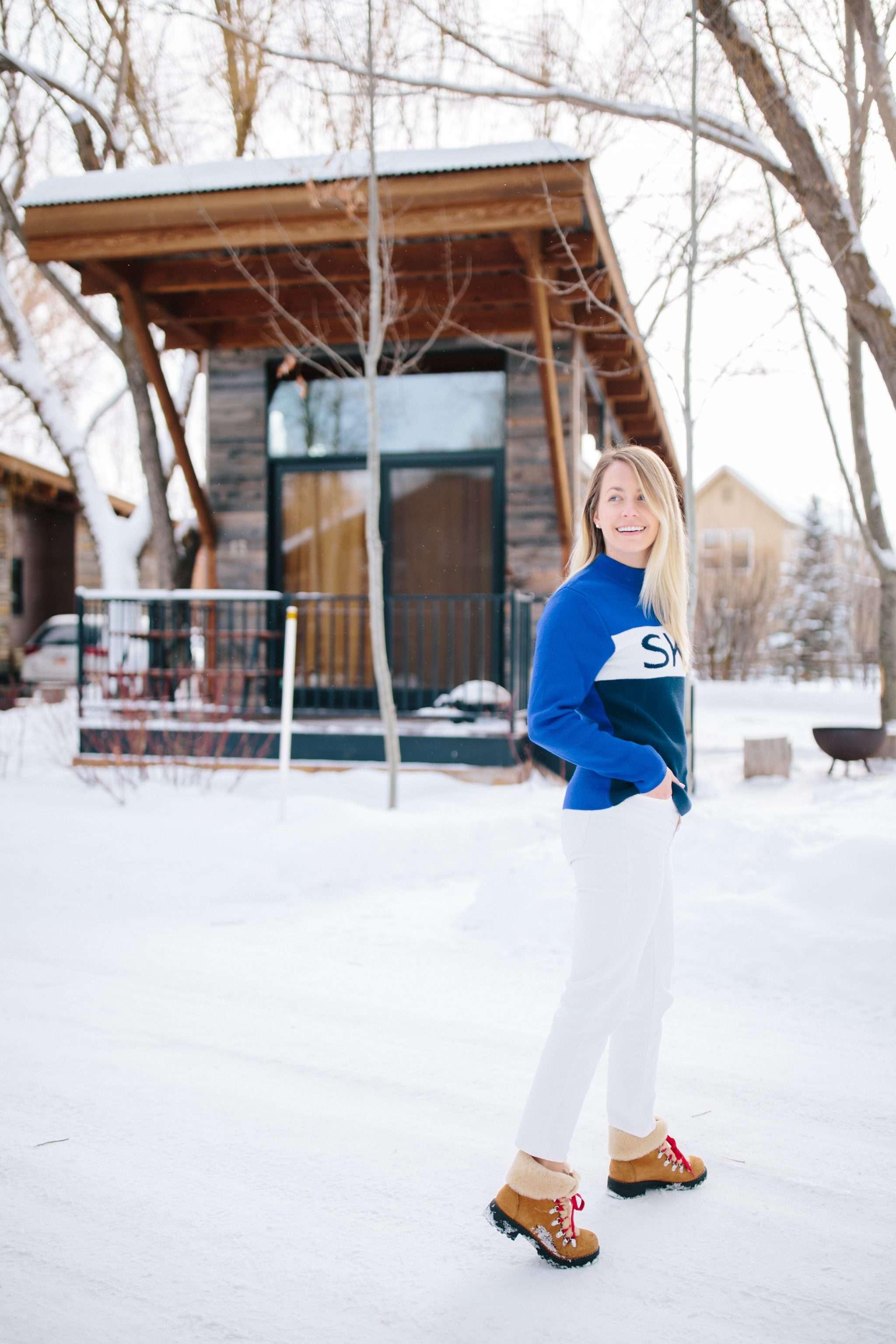 What to wear on a winter ski trip this season | Rhyme & Reason