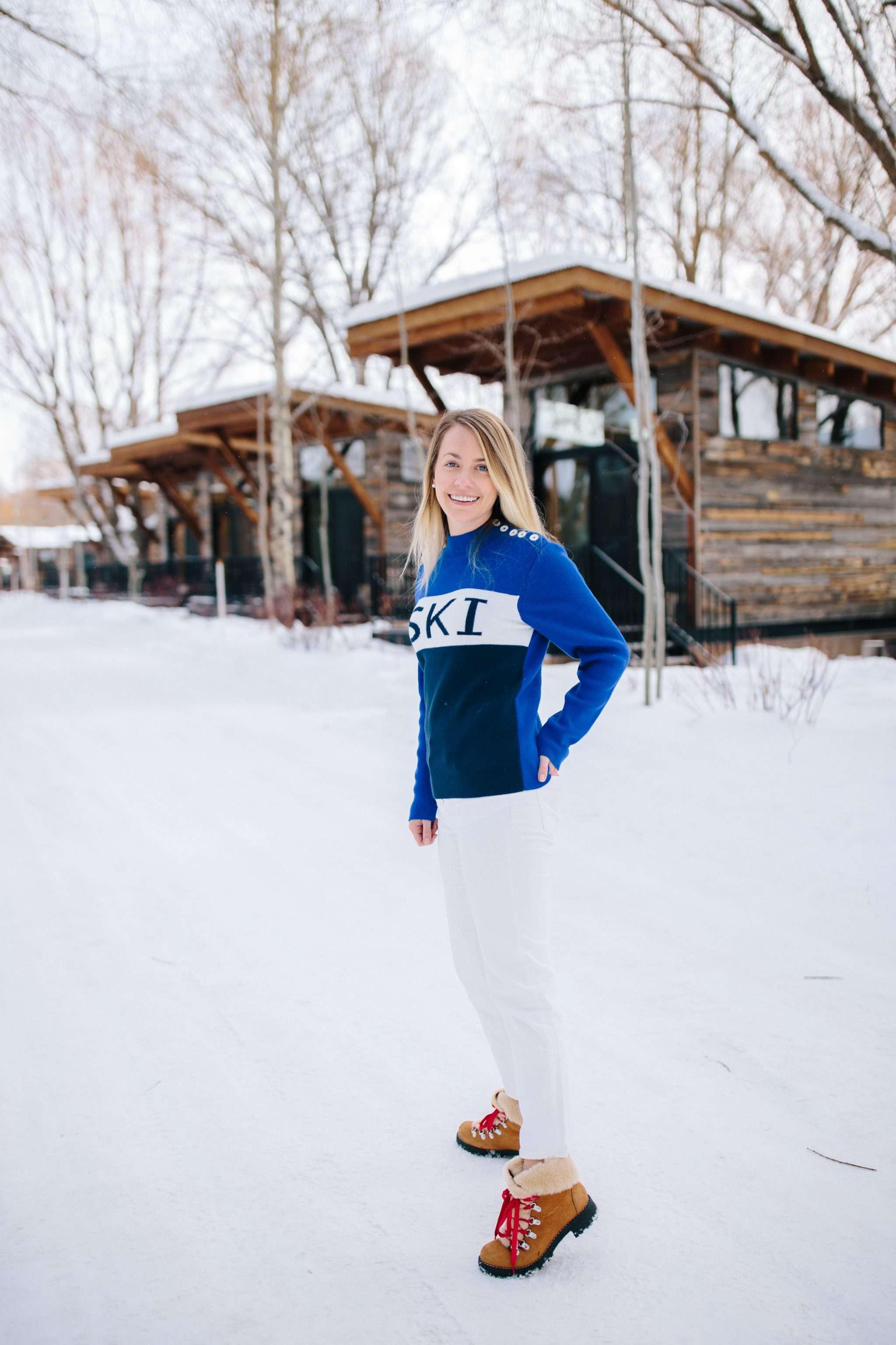 what to wear for après ski | Rhyme & Reason