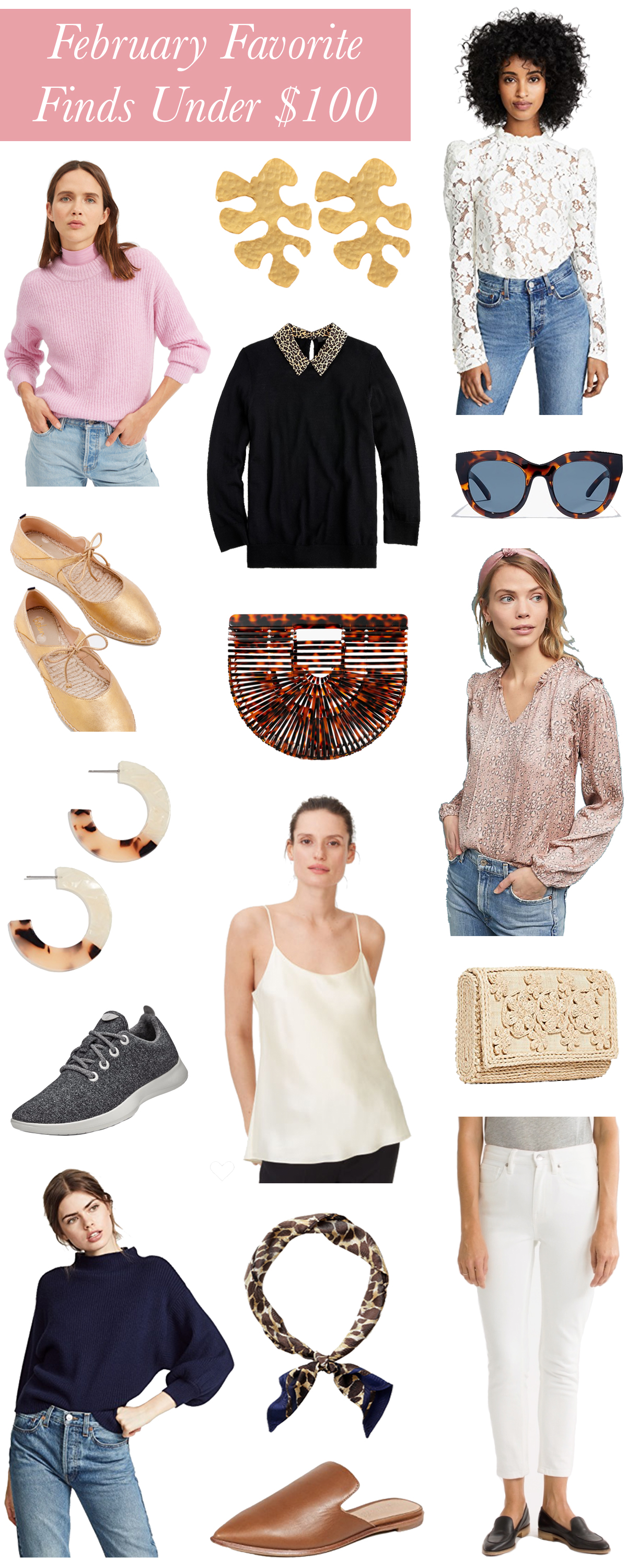 What to shop for under $100 in February + February 2019 Favorite Finds Under $100 | Rhyme & Reason