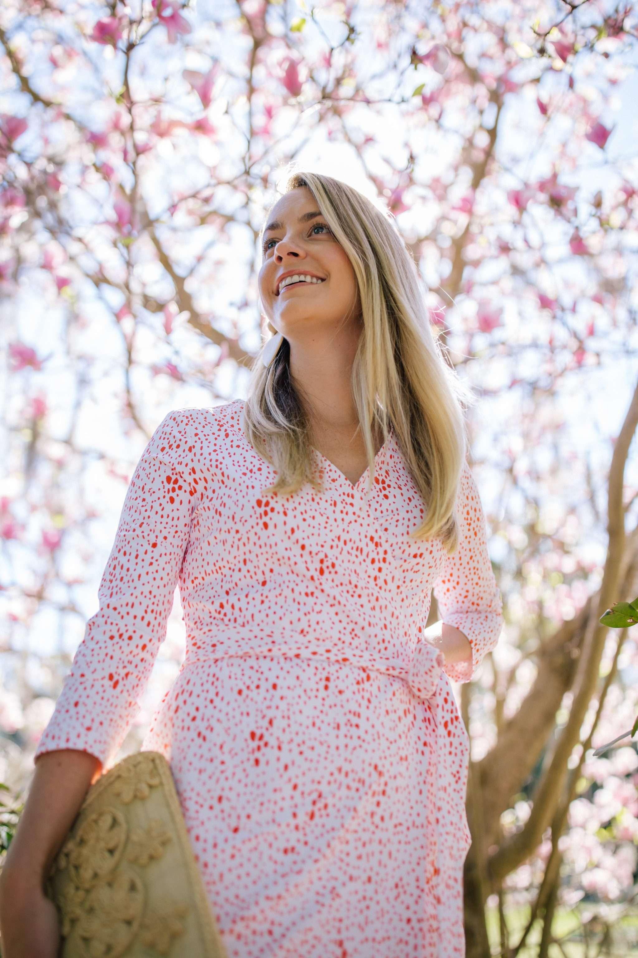 Wardrobe 101: How to Wear a Wrap Dress | Rhyme & Reason