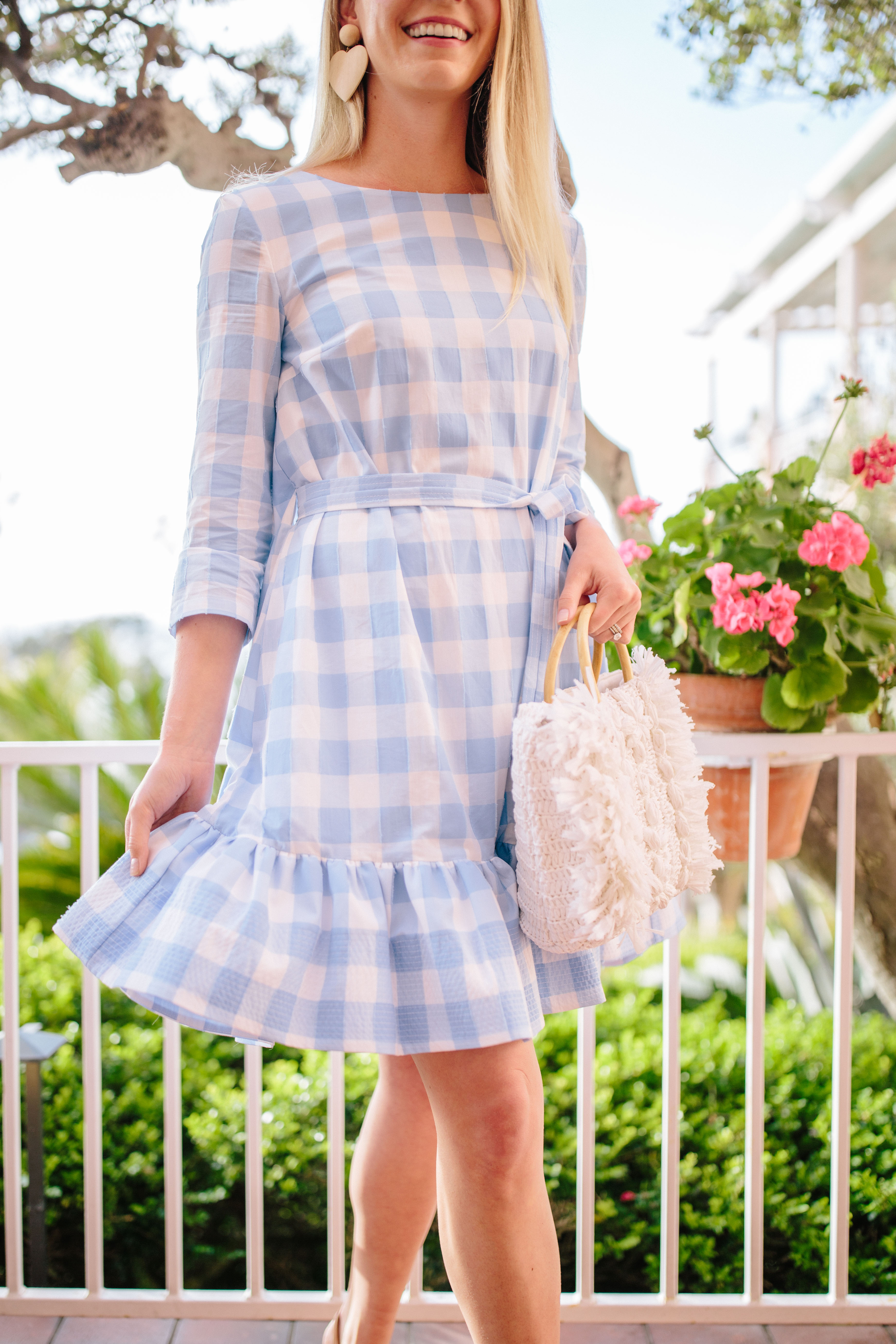 The Perfect Dress for Blue and White Lovers - The Best Gingham Pieces To Buy Now | Rhyme & Reason