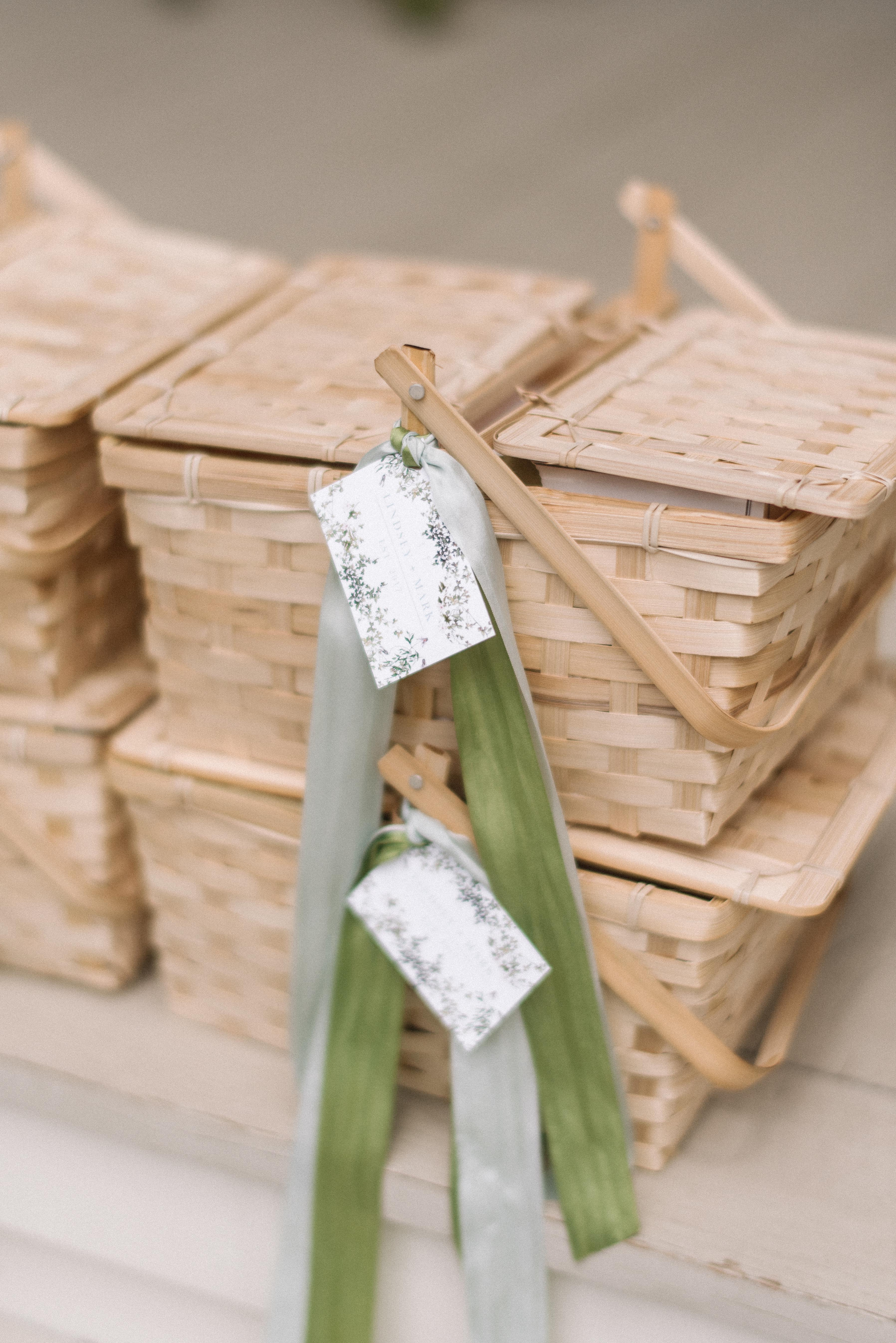 Creative Wedding Welcome Baskets + 10 Things to Put in Your Wedding Welcome Bags   Rhyme & Reason