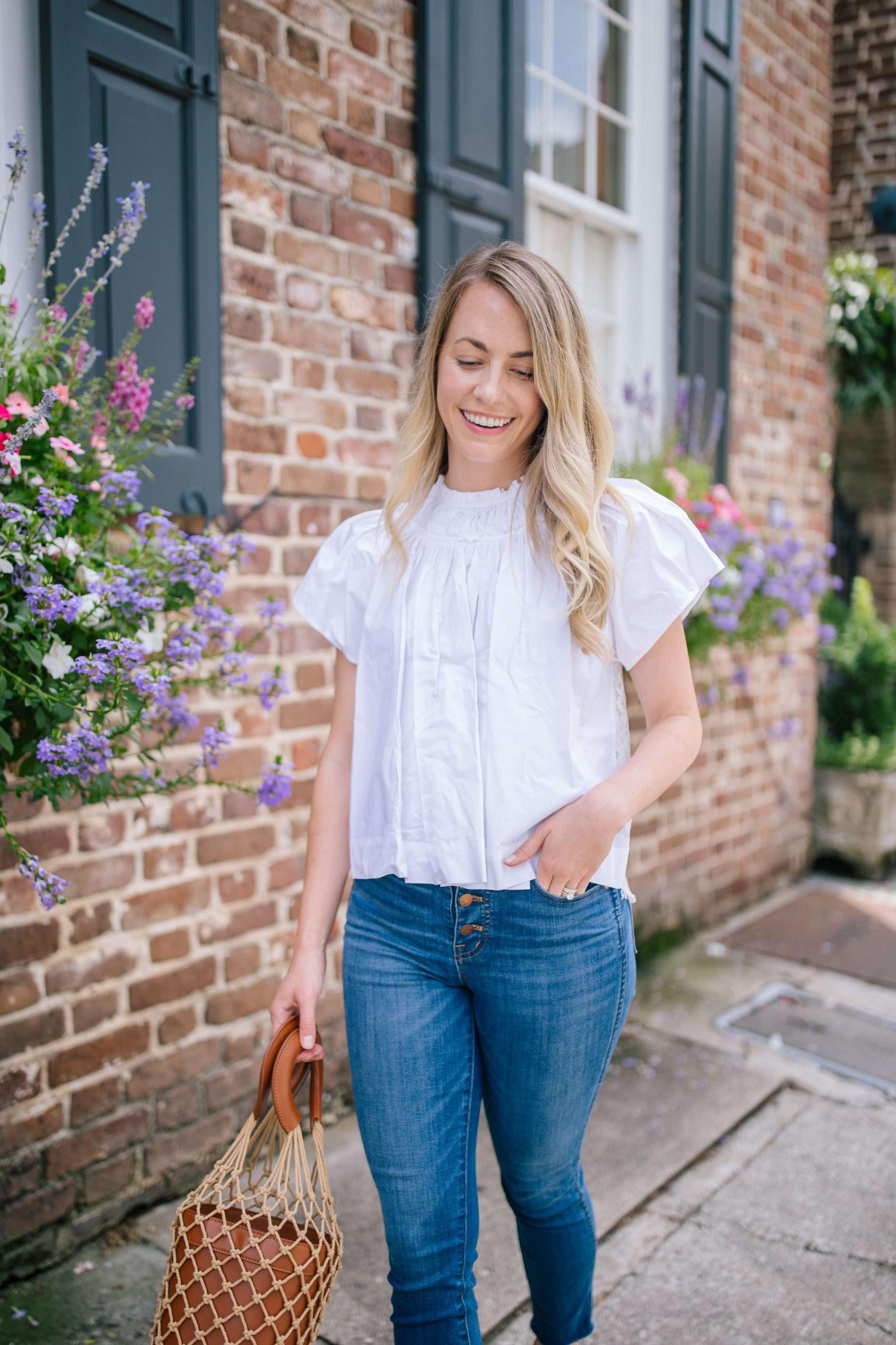 Crisp white tops for shop for summer 2019 | Rhyme & Reason