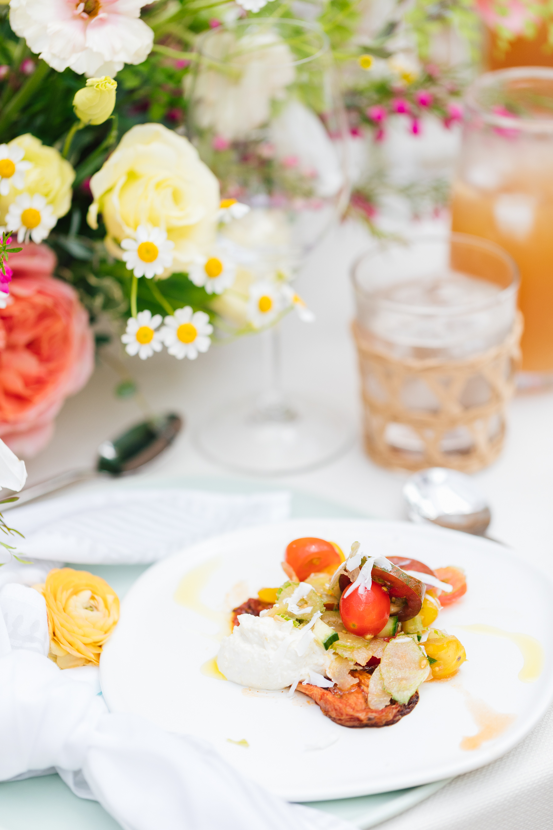 Low-Maintenance Summer Dinner Party Recipes | Rhyme & Reason