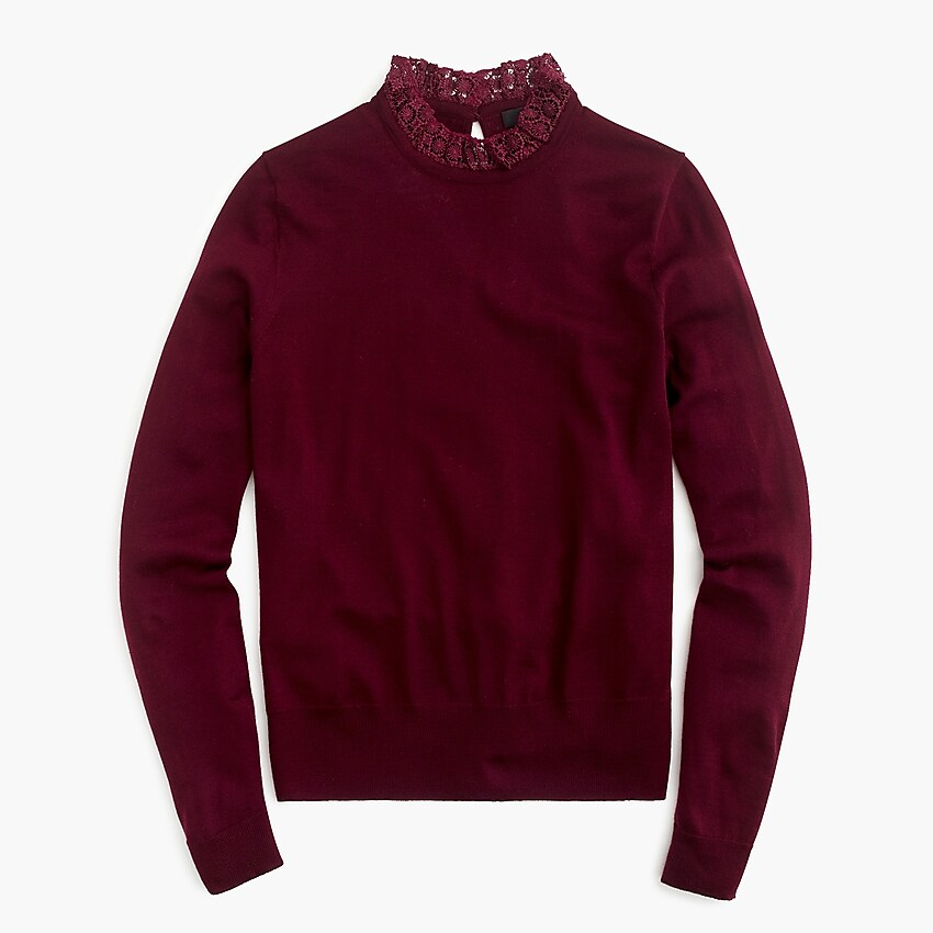 Where to shop cute burgundy sweaters for fall | Rhyme & Reason