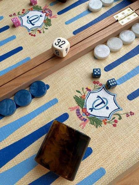 Gift Guide: Gifts for the Grandmillennial - Custom Nine Fair Backgammon Board   Rhyme & Reason