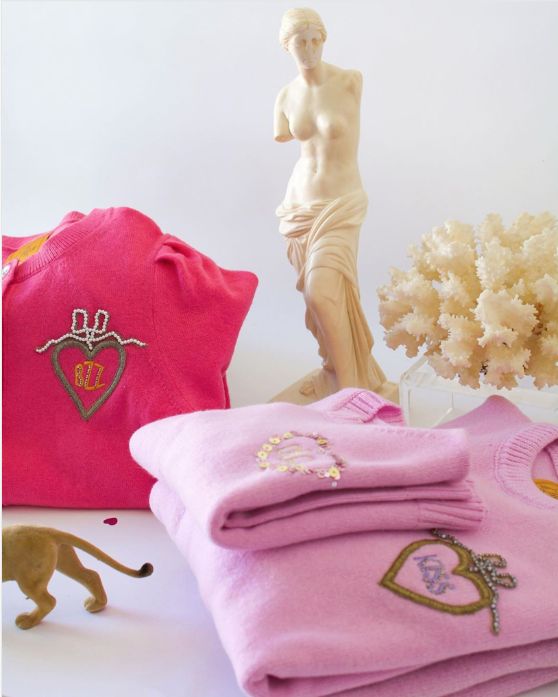 Gift Guide: Gifts for the Grandmillennial - Le Lion Sweater   Rhyme & Reason