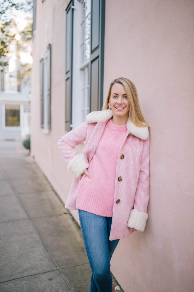 The Stylish Coat Pink Lovers Need | Rhyme & Reason