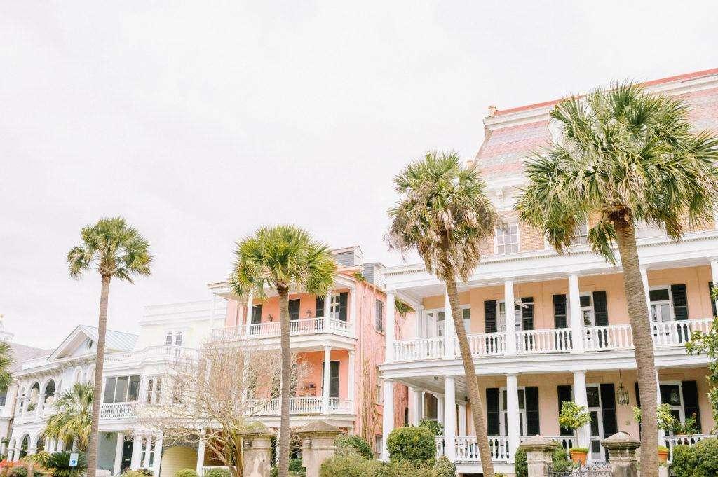 Colorful houses in Charleston, South Carolina | Rhyme & Reason