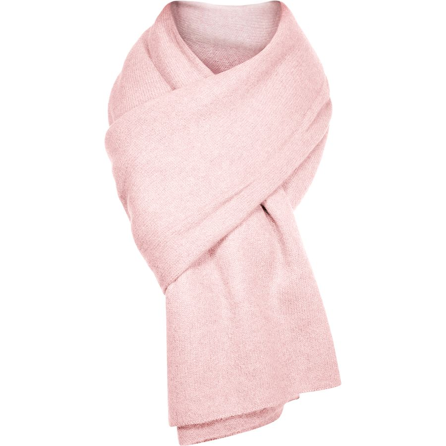 Gift Guide: Gifts for the Snow Bunny - Pink Wrap Scarf | Rhyme & Reason