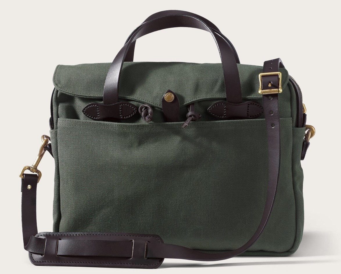 Gift Guide: Gifts For The Guys - Rugged Twill Briefcase | Rhyme & Reason