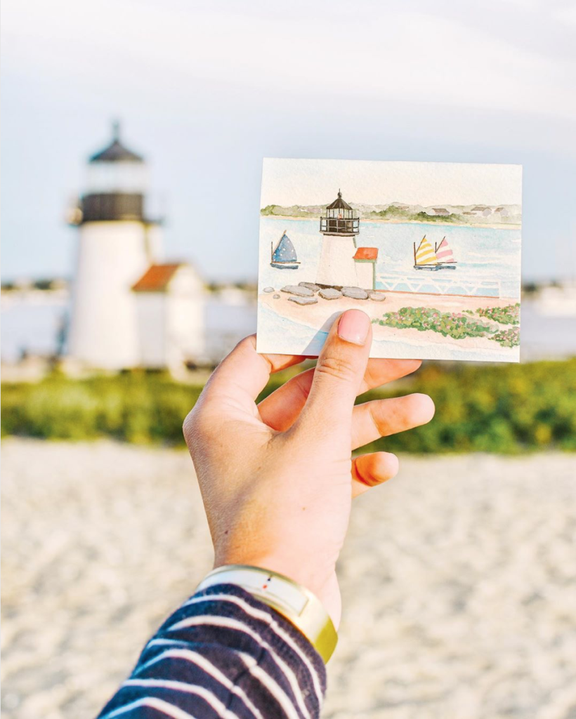 A perfect day on Nantucket according to local artist Meredith Hanson | Rhyme & Reason