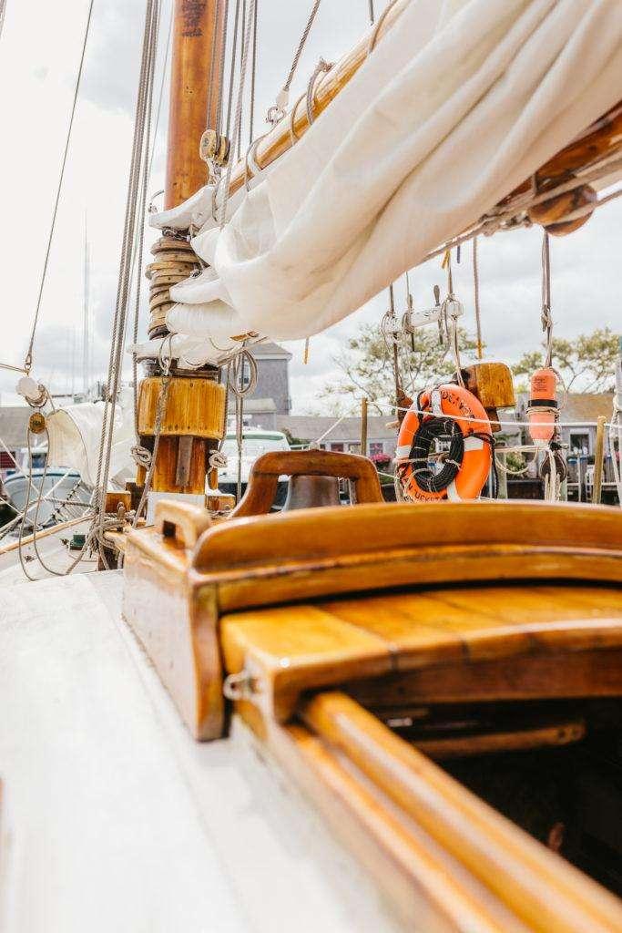 Sailing on the Endeavor on Nantucket | Rhyme & Reason