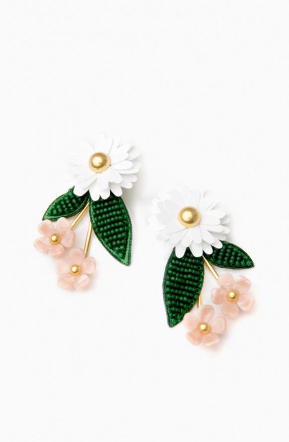 Resort Wear Finds Under $100: Garden Earrings | Rhyme & Reason