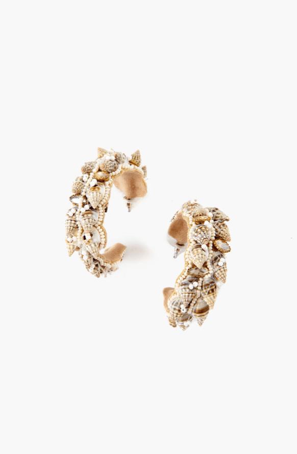 Resort Wear Finds Under $100: Shell Earrings | Rhyme & Reason