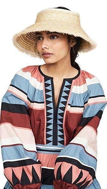 Resort Wear Finds Under $100: Straw Visor | Rhyme & Reason