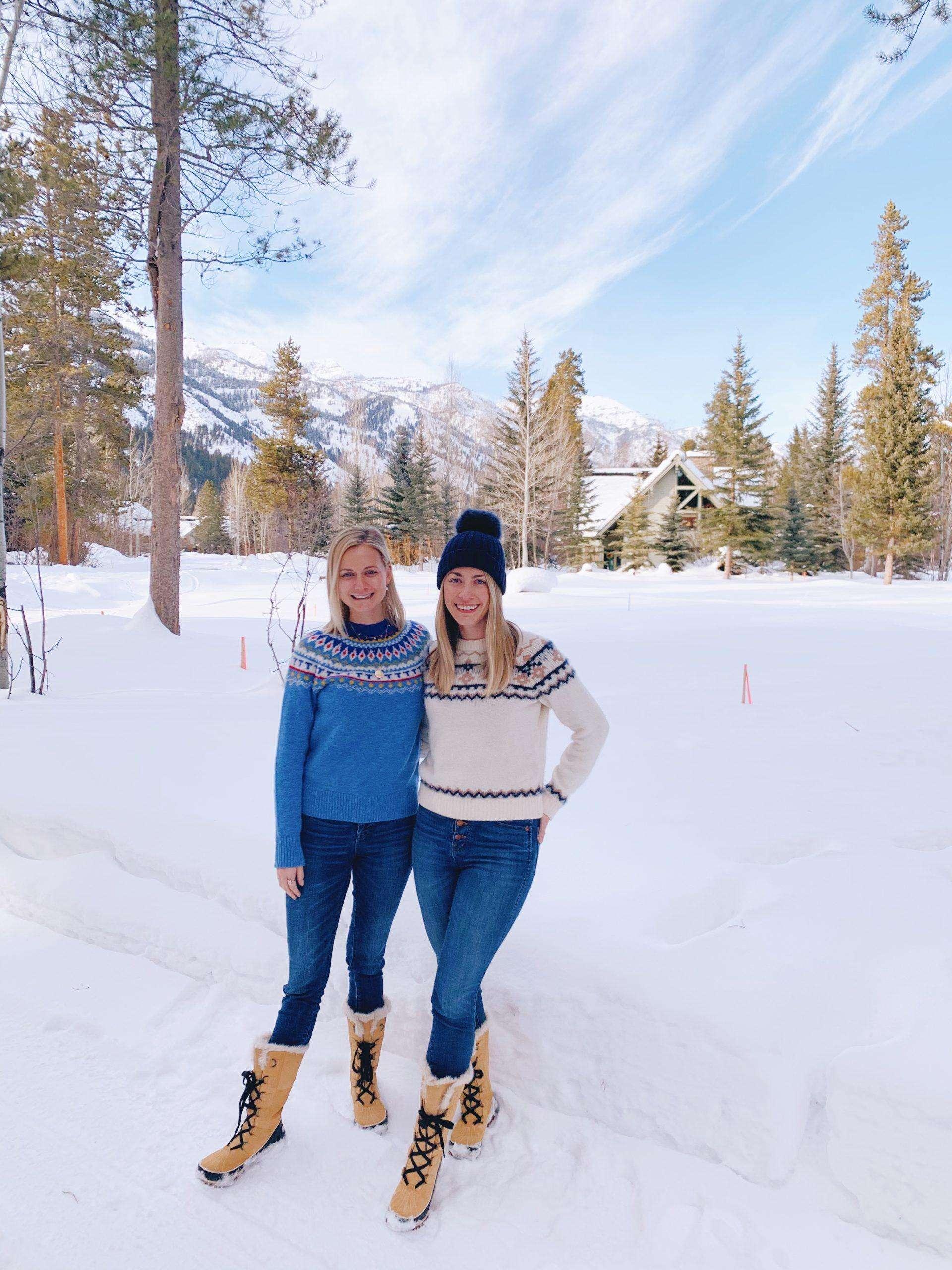 fair Isle Sweaters in Jackson Hole + Weekend Reads, No. 119 | Rhyme & Reason