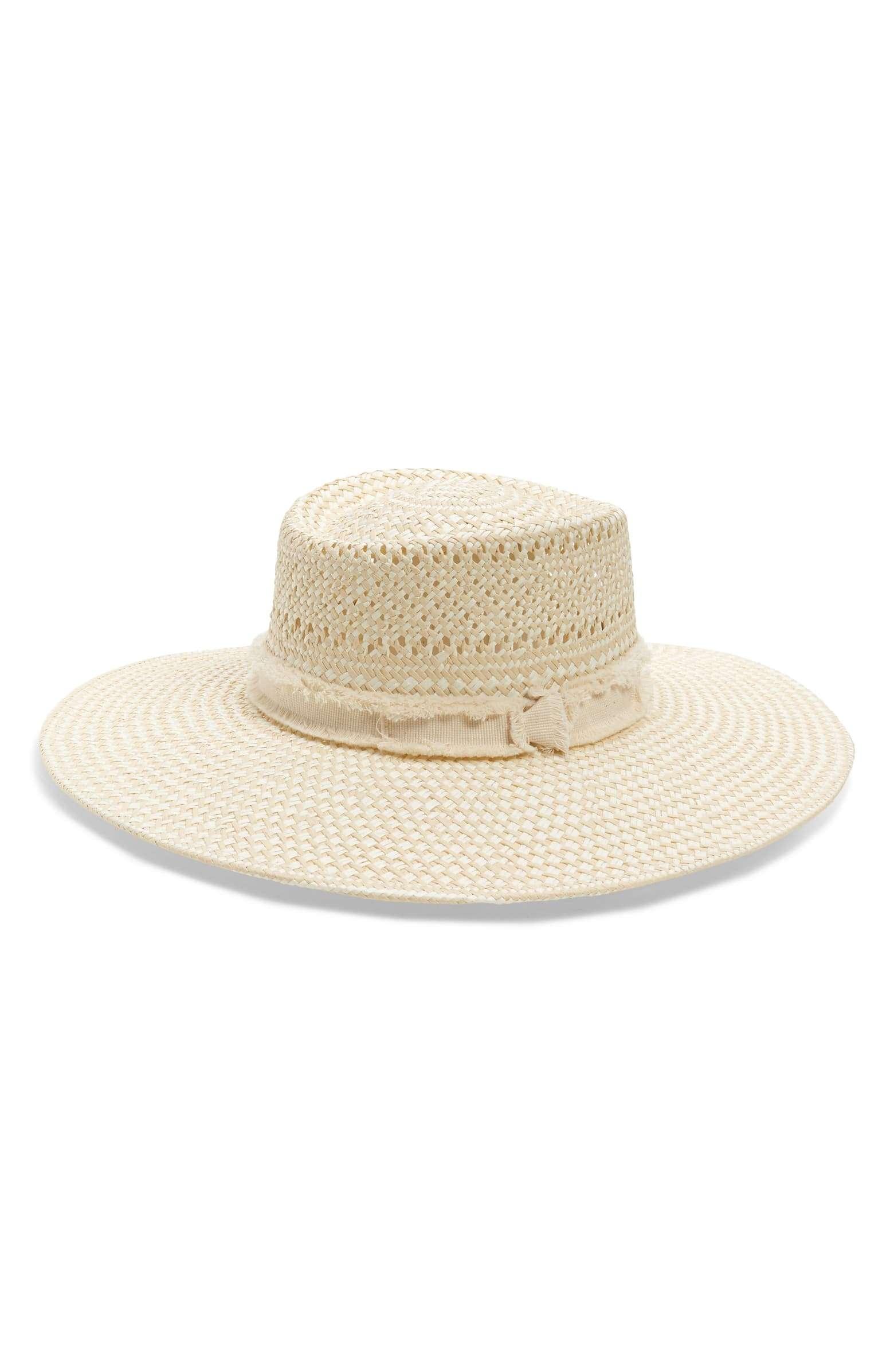 Resort Wear Finds Under $100: Wide Brim Straw Hat | Rhyme & Reason